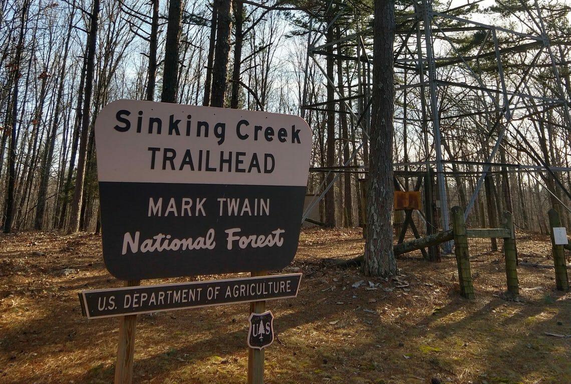 Sinking Creek Trailhead
